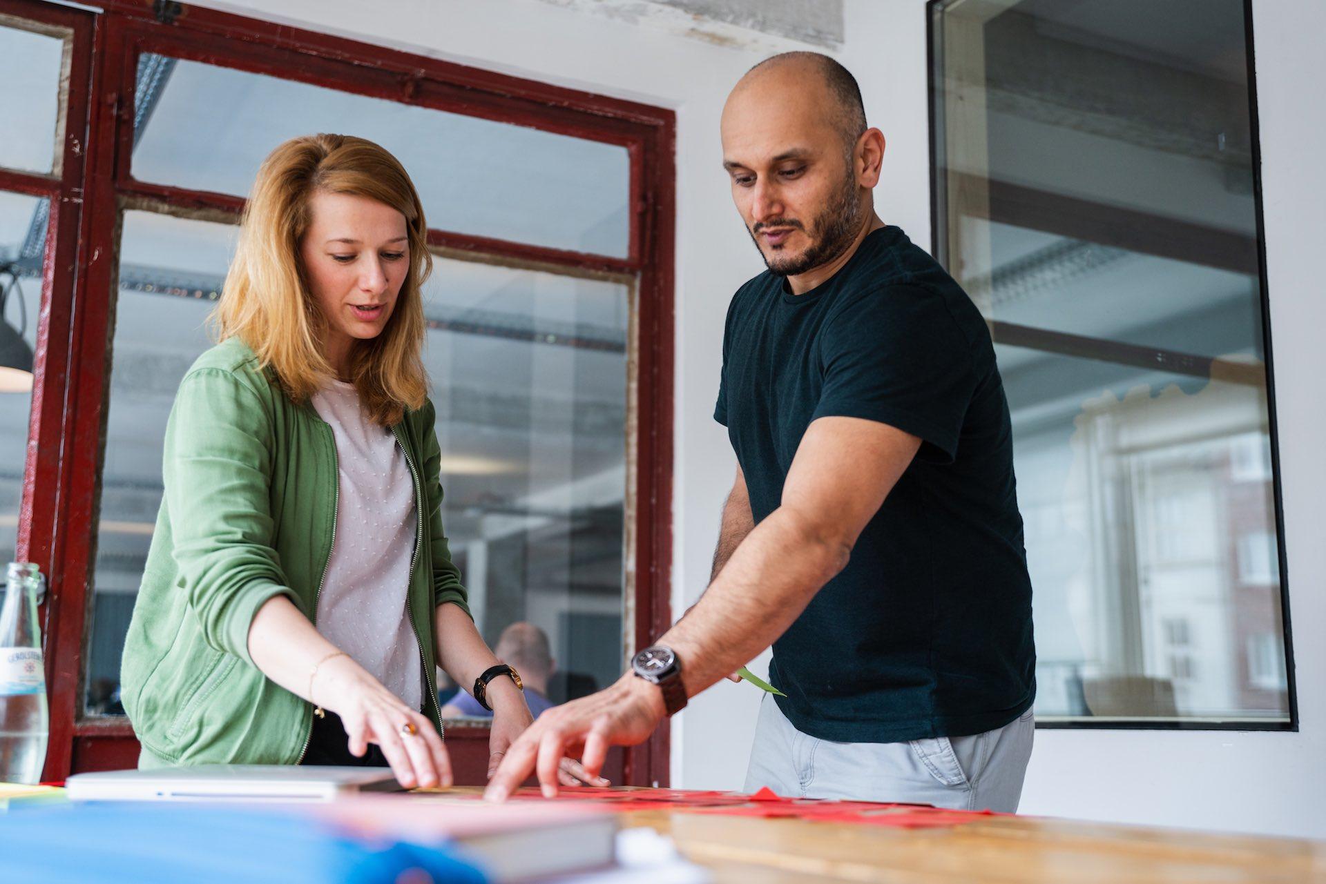 COACHINGLAB745 Stressanalyse im Coaching Britta Marek und Klient